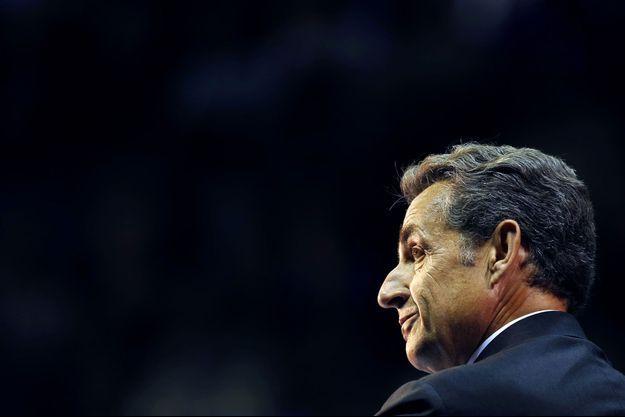 Nicolas Sarkozy lors d'un meeting à Marseille, le 28 octobre dernier.