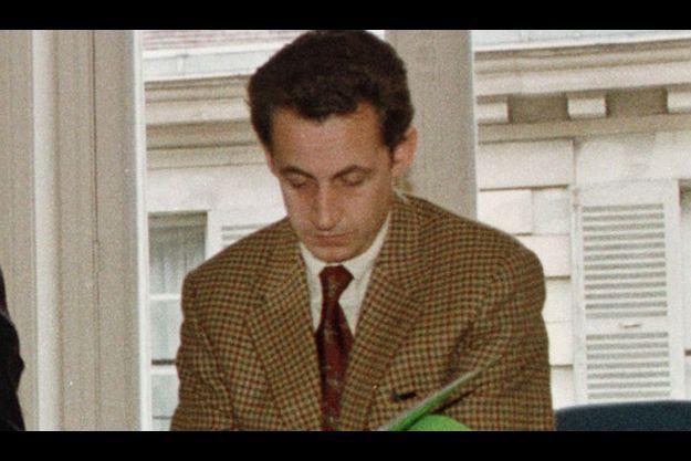 Nicolas Sarkozy en 1998.