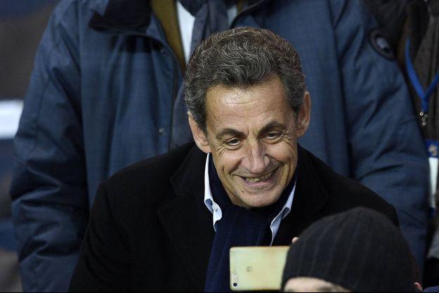 Nicolas Sarkozy était présent lors de la rencontre entre le PSG et Angers, samedi, au Parc des Princes.