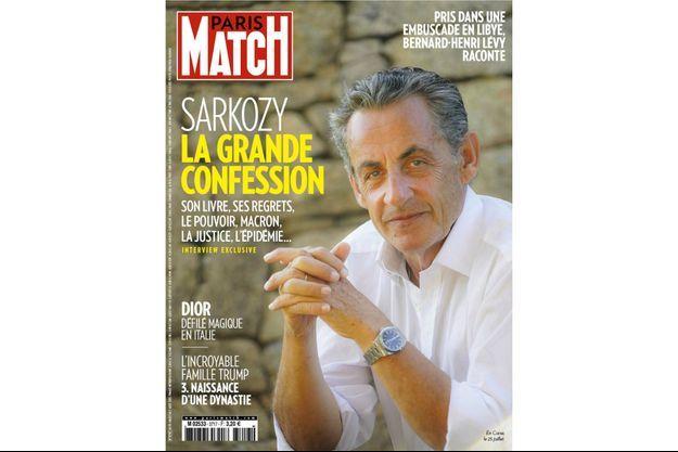Nicolas Sarkozy, en Corse, le 25 juillet.