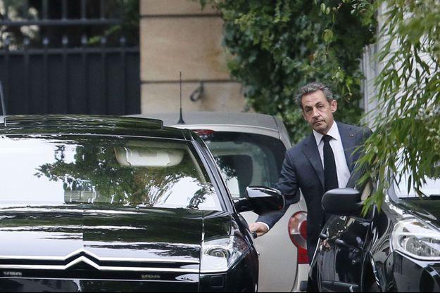 Nicolas Sarkozy, mardi dernier.