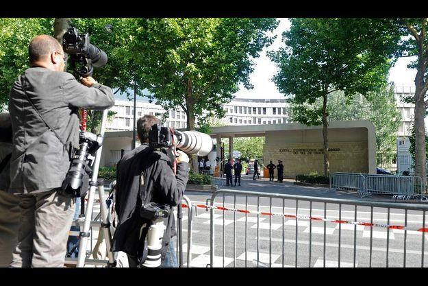 L'hôpital militaire du Val-de-Grâce, Paris Ve.