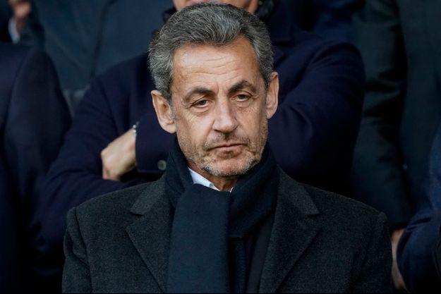 Nicolas Sarkozy, ici début mai au Parc des Princes.