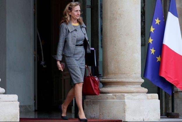 La ministre de la Justice Nicole Belloubet , à l'Elysée en décembre dernier.