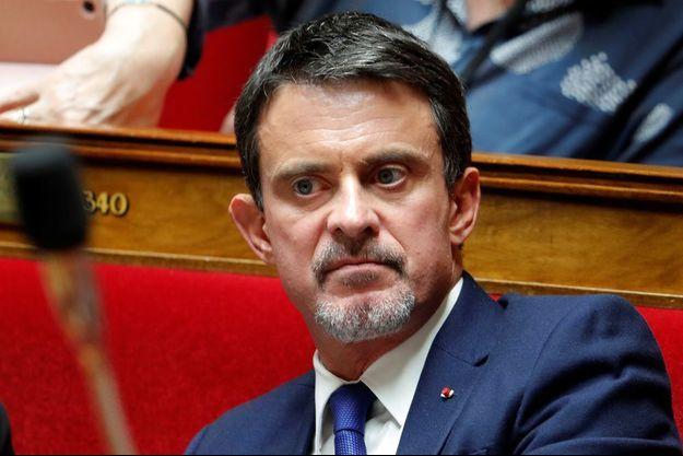 Manuel Valls, ici à l'Assemblée nationale en octobre 2017.