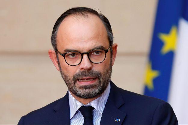 Edouard Philippe le 17 janvier 2018 à l'Elysée.
