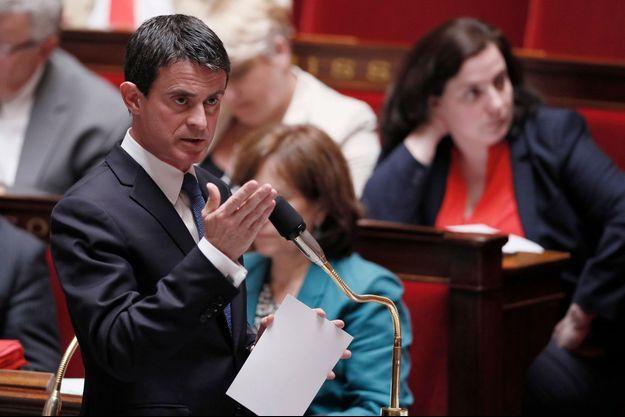 Manuel Valls à l'assemblée nationale le 28 juin