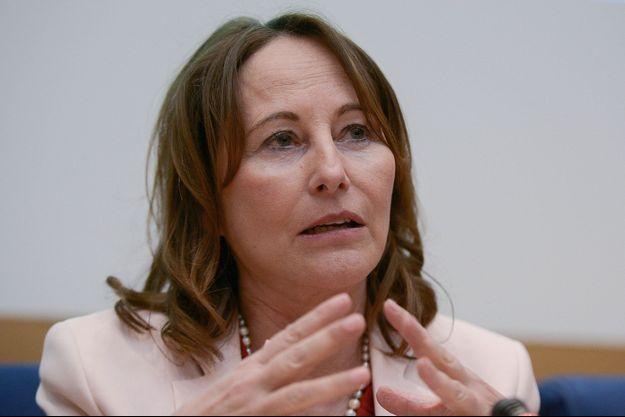 Ségolène Royal , en février au Sénat.