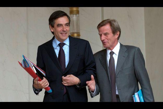 François Fillon fera toujours équipe avec Bernard Kouchner, le ministre des Affaires étrangères.