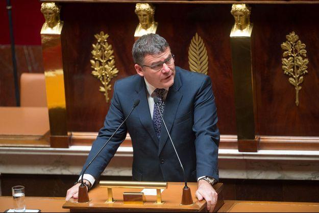 Christophe Sirugue à l'Assemblée nationale le 3 mai dernier. Il a été rapporteur du projet de loi Travail.