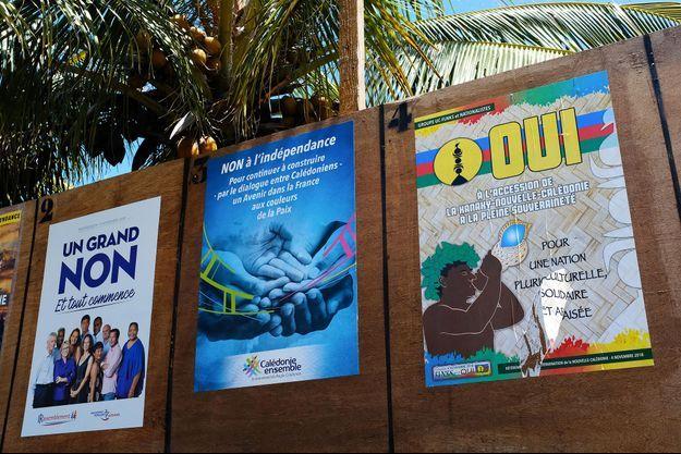 Le non à l'indépendance de la Nouvelle-Calédonie l'emporte avec 59,5% des voix sur 70% des bulletins dépouillés lors du référendum d'autodétermination.