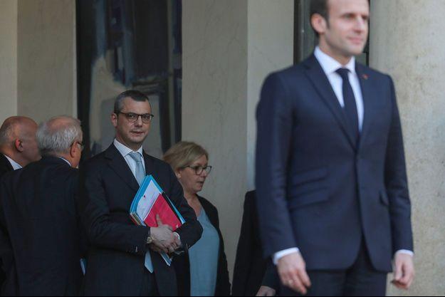 Alexis Kohler à l'Elysée le 27 février dernier.