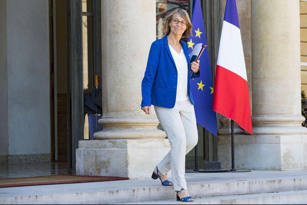 Françoise Nyssen à l'Elysée, le 3 août.