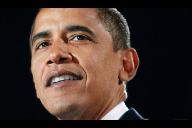 Barack Obama en 2008.