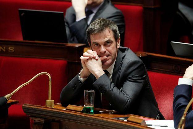 Olivier Véran, lundi à l'Assemblée nationale.
