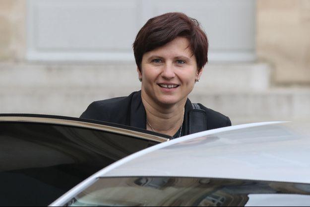 La ministre Roxana Maracineanu mercredi lors du Conseil des ministres.