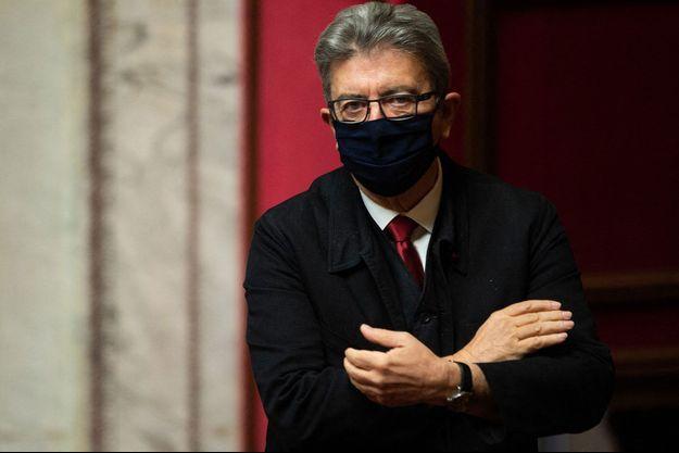 Jean-Luc Mélenchon, ici à l'Assemblée nationale début octobre.