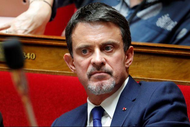 Manuel Valls ici à l'Assemblée nationale en octobre dernier.