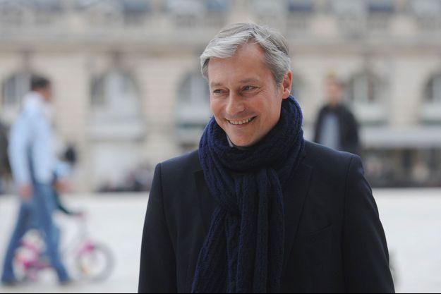 Laurent Hénart à Nancy en mars 2014.