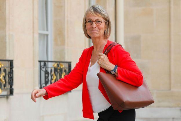 Françoise Nyssen à l'Elysée, le 31 mai dernier.