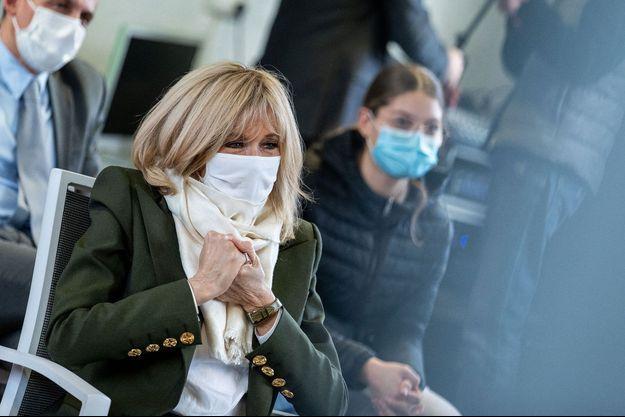 Brigitte Macron, ici le 3 février à la maison des adolescents à Blois.