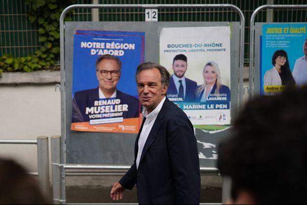 Renaud Muselier dimanche à Marseille.