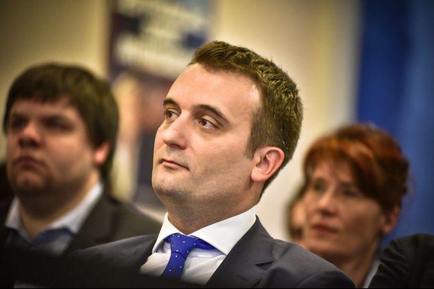 Florian Philippot le 29 mars dernier.