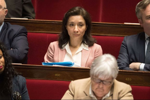 La secrétaire d'Etat auprès du ministre de l'Economie et des Finances, Delphine Gény-Stephann, à l'Assemblée nationale en décembre dernier.