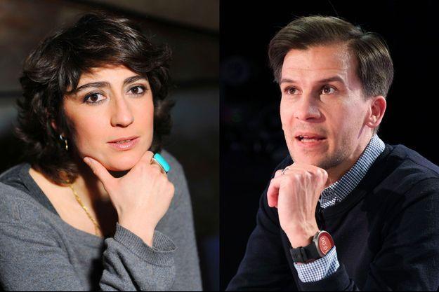 Isabelle Saporta et Gaspard Gantzer.