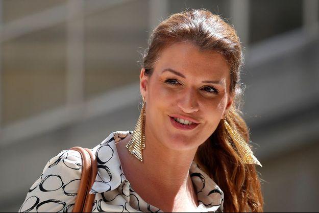 Marlène Schiappa en mai dernier à Paris.