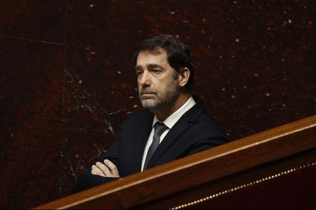 Christophe Castaner, mardi à l'Assemblé nationale