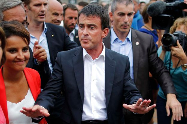 Manuel Valls à l'université d'été du Parti socialiste, le 30 août dernier. L'événement a coûté 700 000 euros au PS.