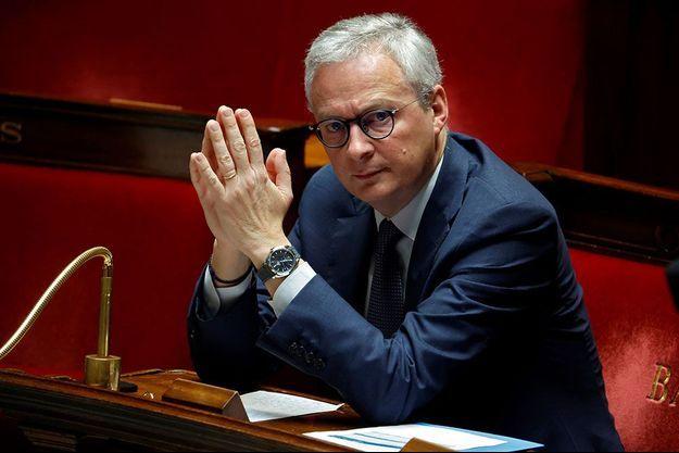 Bruno Le Maire, vendredi dernier à l'Assemblée nationale.