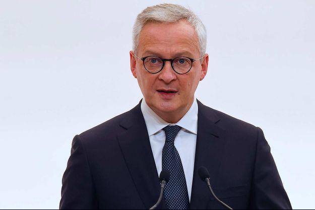 Bruno Le Maire à Paris, le 15 octobre 2020.