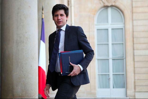 Julien Denormandie à l'Elysée, le 17 octobre dernier.