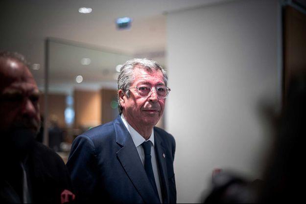 Patrick Balkany au tribunal de Paris-Clichy-Batignolles, en mai 2019.