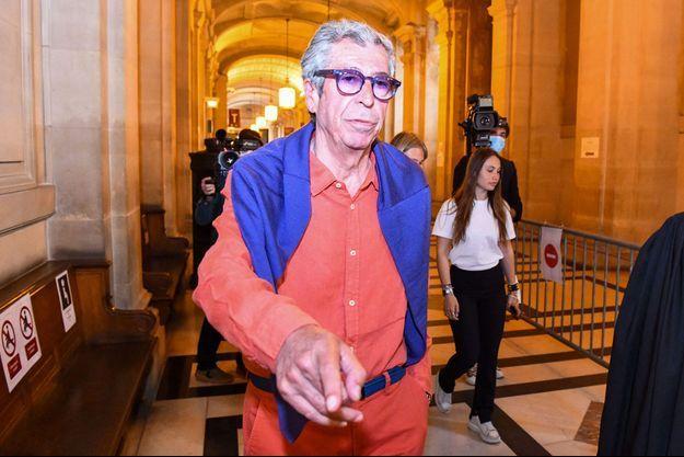 Patrick Balkany ici en mai 2020 au palais de justice de Paris