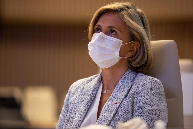 Valérie Pécresse, mi-octobre au congrès des Régions de France.