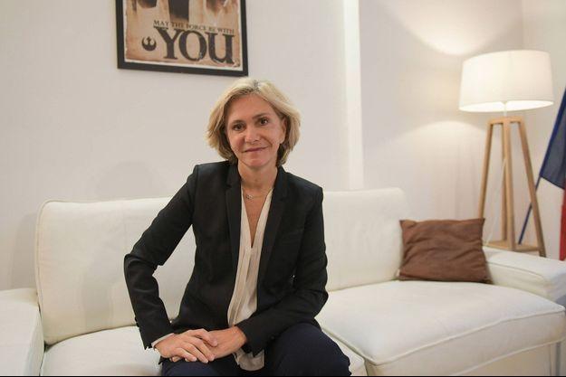 Valérie Pécresse à Paris le 5 octobre.