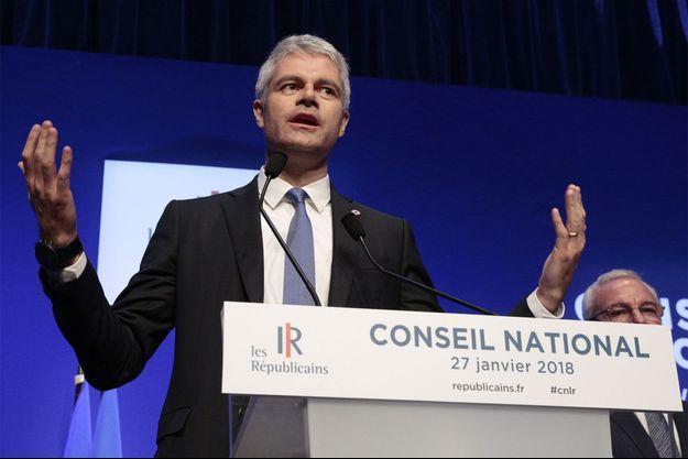 Laurent Wauquiez a participé à son premier conseil national en tant que président des Républicains.