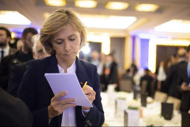 Valérie Pécresse ici au dîner annuel du CCAF en janvier