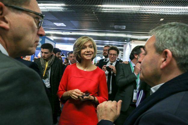 Valérie Pécresse, ici mercredi en visite Salon des Entrepreneurs, à Paris.