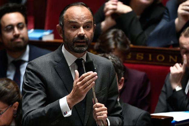 Edouard Philippe à l'Assemblée nationale le 16 octobre 2018