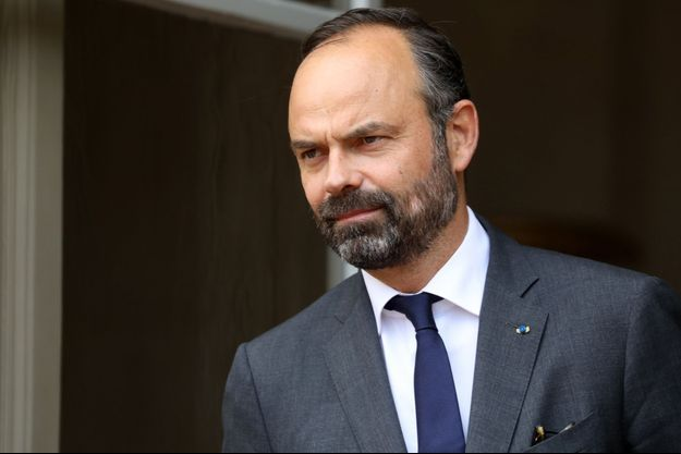 Edouard Philippe à Matignon jeudi.
