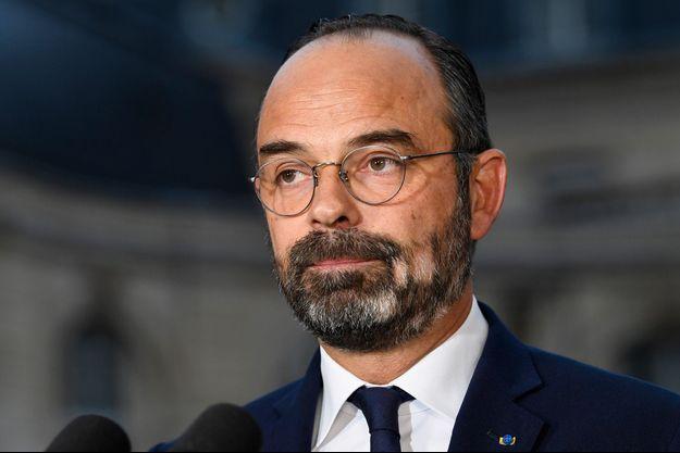 Le Premier ministre Edouard Philippe, ici à Matignon le 6 décembre.