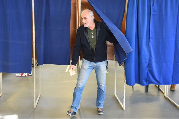 Philippe Poutou, ici en mars lors du premier tour des municipales.