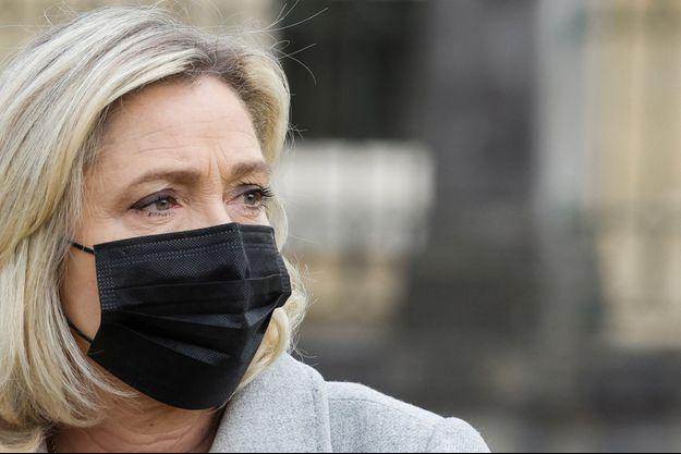 Marine Le Pen, ici le 30 avril à Rambouillet.