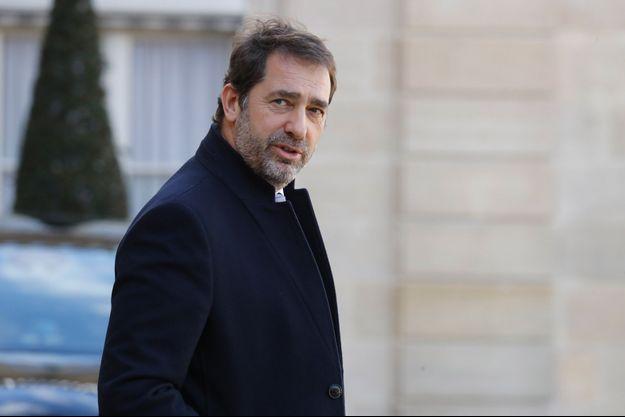 Christophe Castaner à l'Elysée le 11 mars.