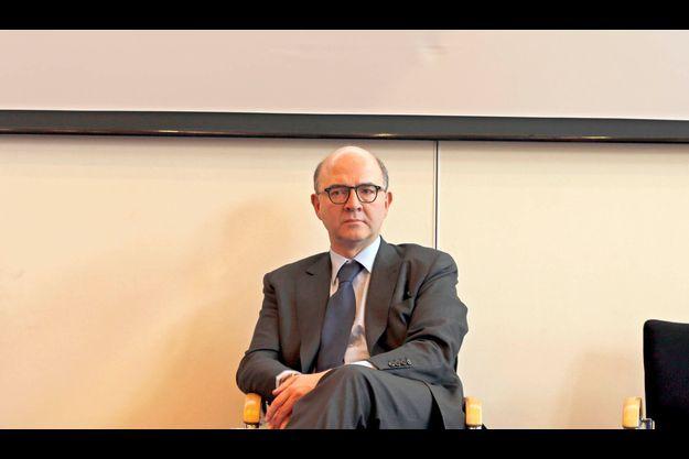 Pierre Moscovici le 27 mars au ministère des Finances