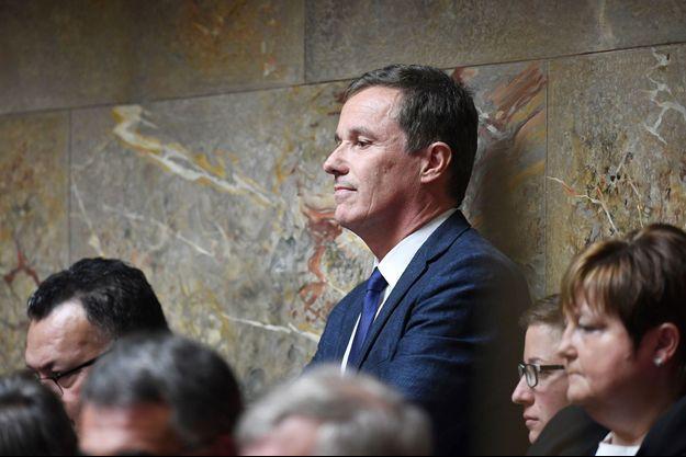 Nicolas Dupont-Aignan à l'Assemblée nationale, début juin.